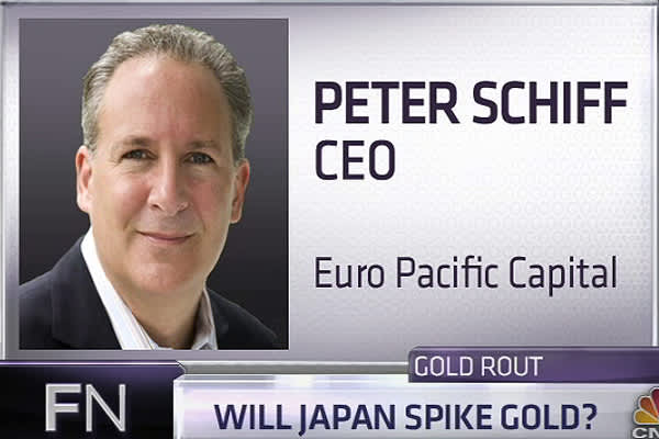 1.	Schiff: Coming Japanese Crisis Will Spike Gold