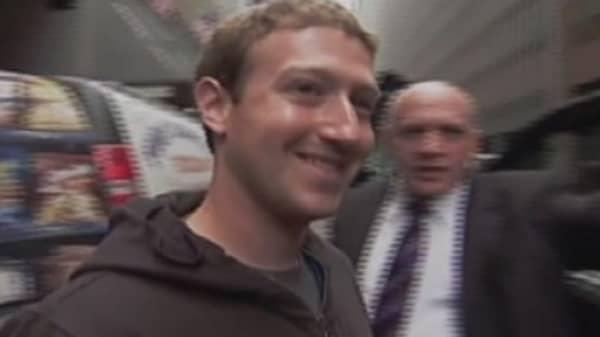 Facebook's 'IPO-versary'