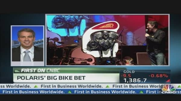 Polaris' Big Bike Bet