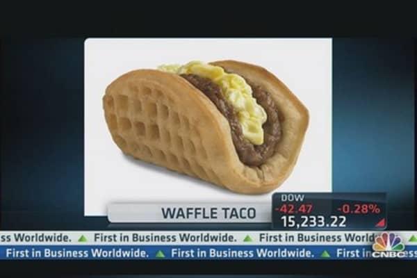 Taco Bell CEO Explains 'Waffle Taco'