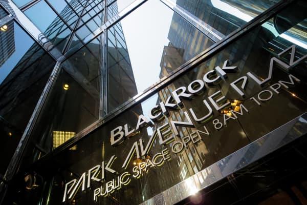 BlackRock headquarters in New York City.