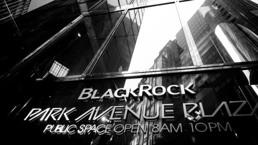 BlackRock Inc. headquarters in New York City.
