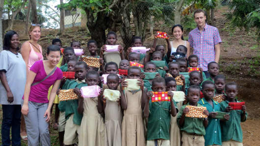 Wharton International Volunteer Program in Ghana 2012