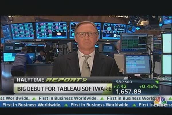 Big Debut for Tableau Software