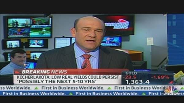 Kocherlakota Urges Fed to Focus on 'Real' Rate