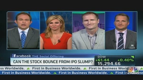 Can FB Bounce From IPO Slump?