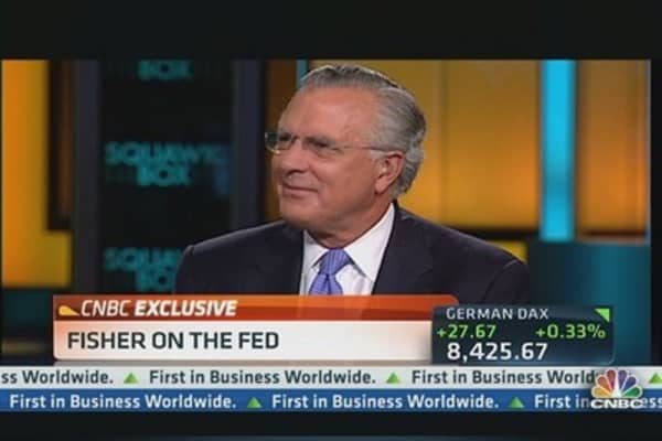 Fisher: We've 'Flooded the Market With Liquidity'