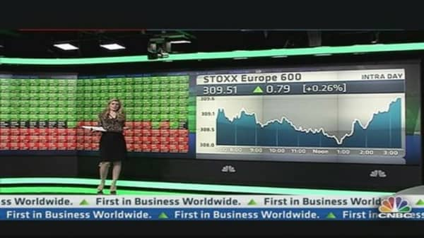European Shares Close Mixed