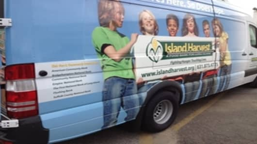 Island Harvest's new van