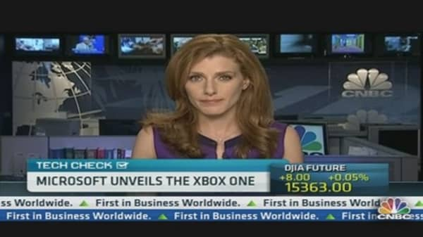 Julia Boorstin Previews Microsoft's Xbox One