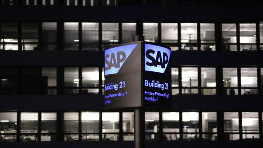 SAP Headquaters in Walldorf, Germany