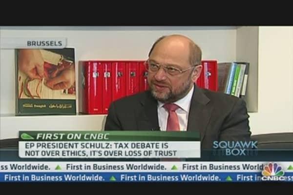 Tax Evasion Erodes Trust in Europe: Schulz