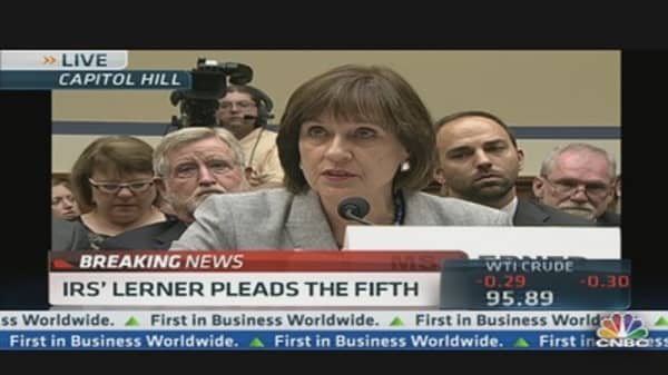 Lois Lerner Takes the Fifth at Tax Hearing