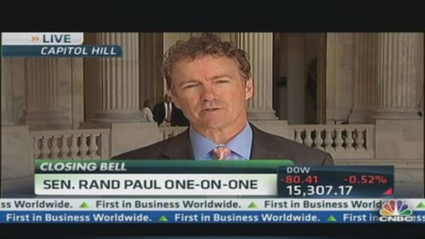 Sen. Rand Paul: 'Audit the Fed'