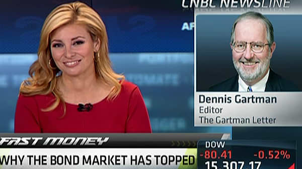 Gartman Gets 'Aggressively Bearish' on Bonds