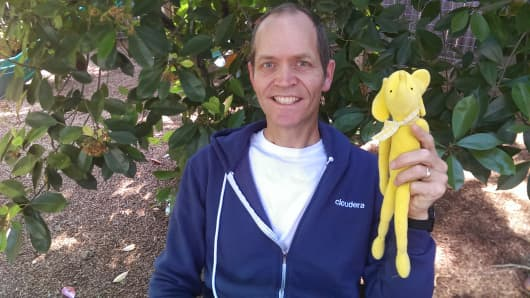 Doug Cutting and Hadoop the elephant