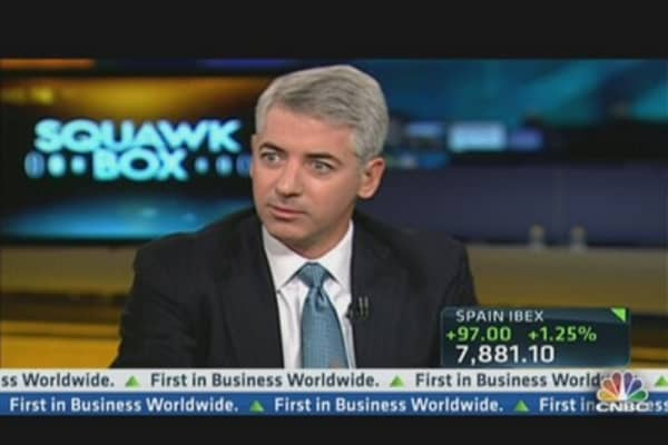 Ackman: P&G 'Stumbled' Under McDonald's Leadership