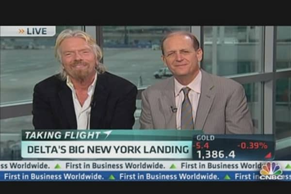 Branson: New Terminal & 'Virgin Not For Sale'