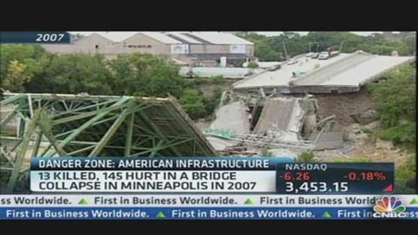 WA Bridge Collapses, US Falls Apart?