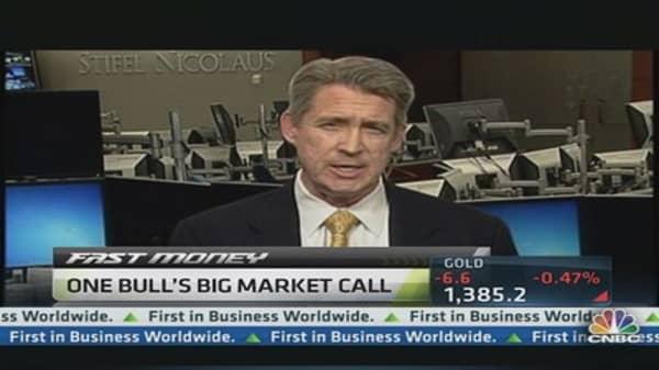 One Bull's Big Stock Market Call