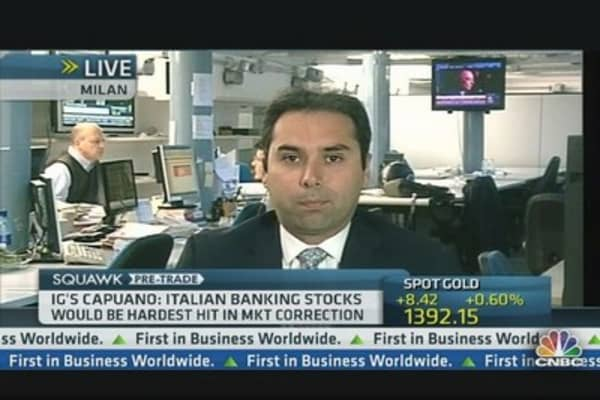 Not Positive on Italy's Banks: Pro
