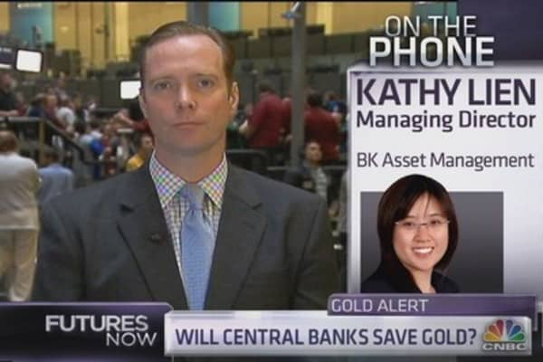 Strategist: Central Banks Cannot Save Gold