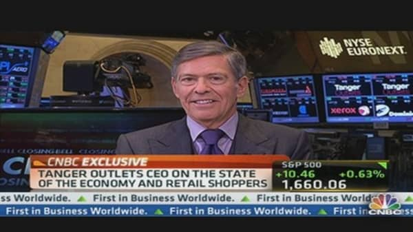 Tanger CEO: People Are Spending Selectively