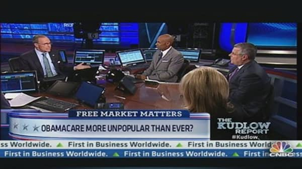 Obamacare More Unpopular Than Ever?