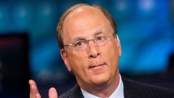 Larry Fink, Chairman & CEO of BlackRock