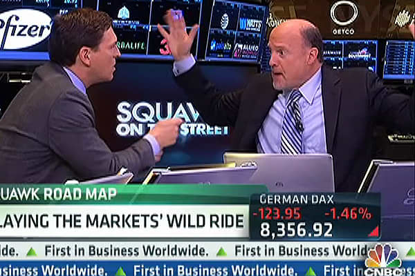 Cramer: These Stocks Are Now 'Death Traps'