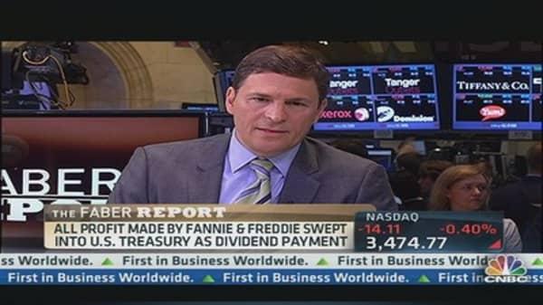 Faber Report:  Fannie & Freddie Post Profits