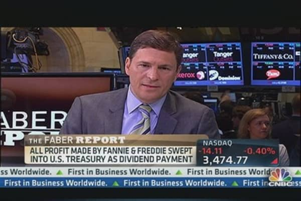 Faber Report:  Fannie & Freddie Post Profits