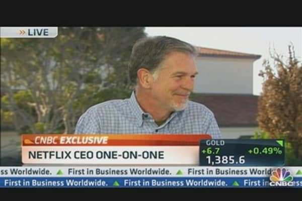 Netflix CEO on Investing in Original Content