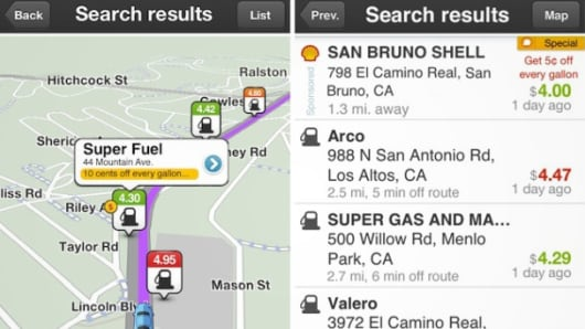 Waze navigation app