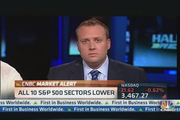 A Market 'Wake-Up Call': Josh Brown