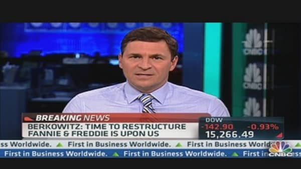 Berkowitz: Time to Restructure Fannie & Freddie