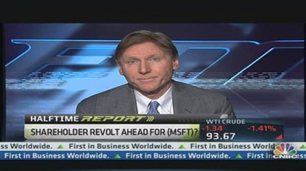 Microsoft Shareholder Revolt Ahead?