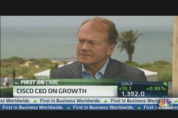 Cisco CEO: Mobile Is Now Our Strength