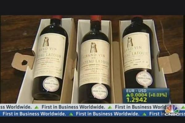 France's $325,000 Wine Auction
