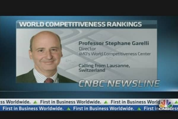 US Ranked Most Competitive in the World