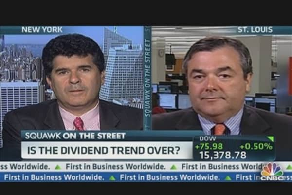 The End of the Dividend Trend?