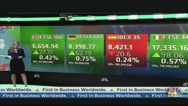 European Market Closes