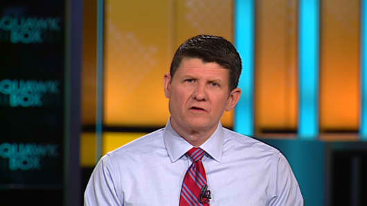 "The ""Squawk Box"" control room crew puts Rep. Paul Ryan's hair on co-host Joe Kernen."
