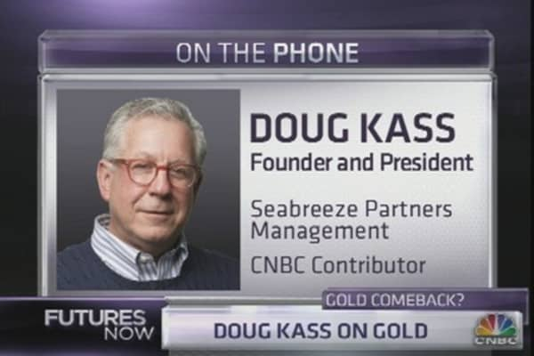 Doug Kass Goes For Gold
