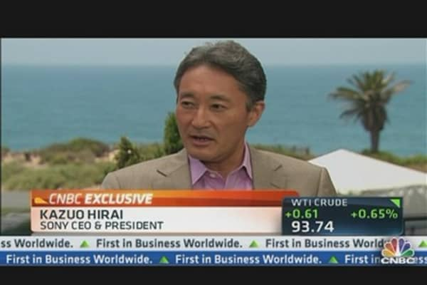 Sony CEO: We Can Turn Electronics Biz Around