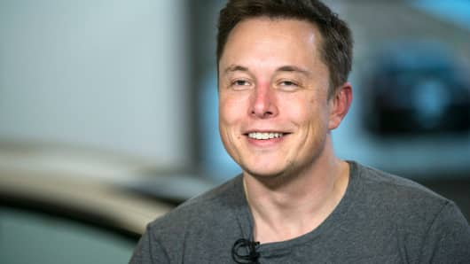 Elon Musk, CEO of Tesla Motors Co.