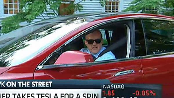 Cramer's Tesla Test Drive