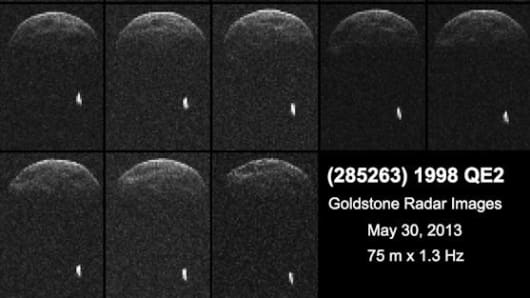 QE2 astroid has a moon.