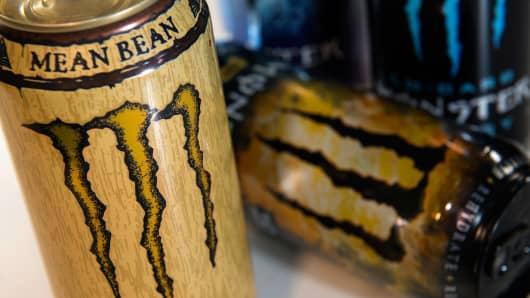 Monster Beverage Corp. drinks.
