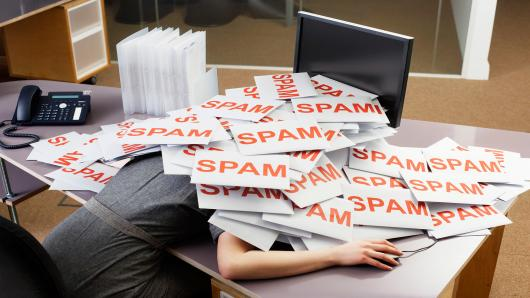 Email Spam Internet Hacking